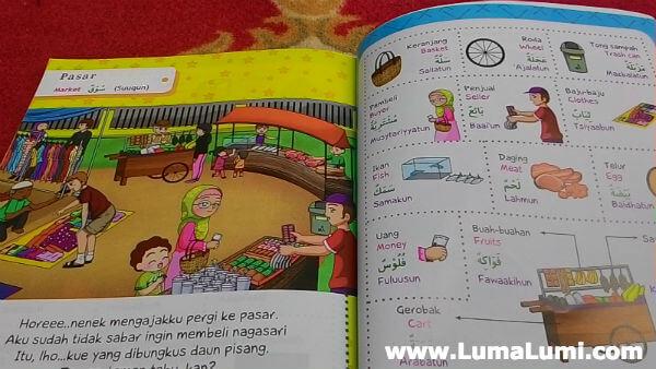 kamus bahasa arab bergambar 3 bahasa