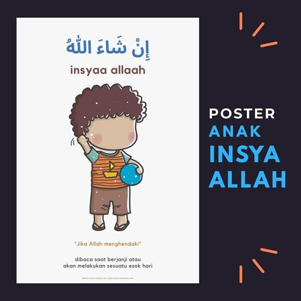 poster anak lumalumi insya Allah