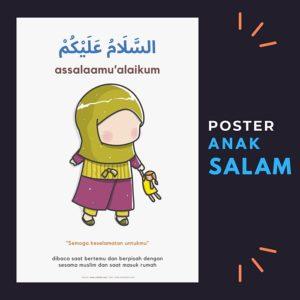 poster anak lumalumi belajar salam