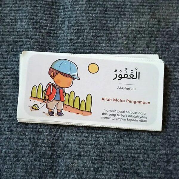 stiker asmaul husna untuk anak balita